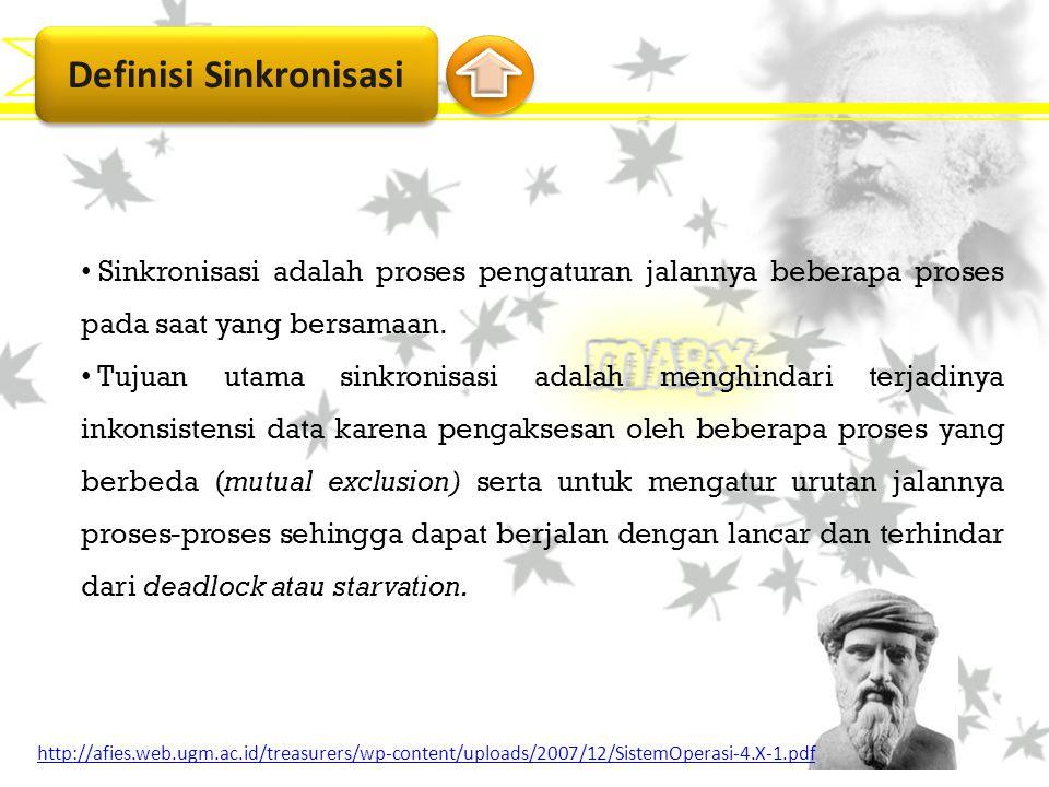 Definisi Sinkronisasi