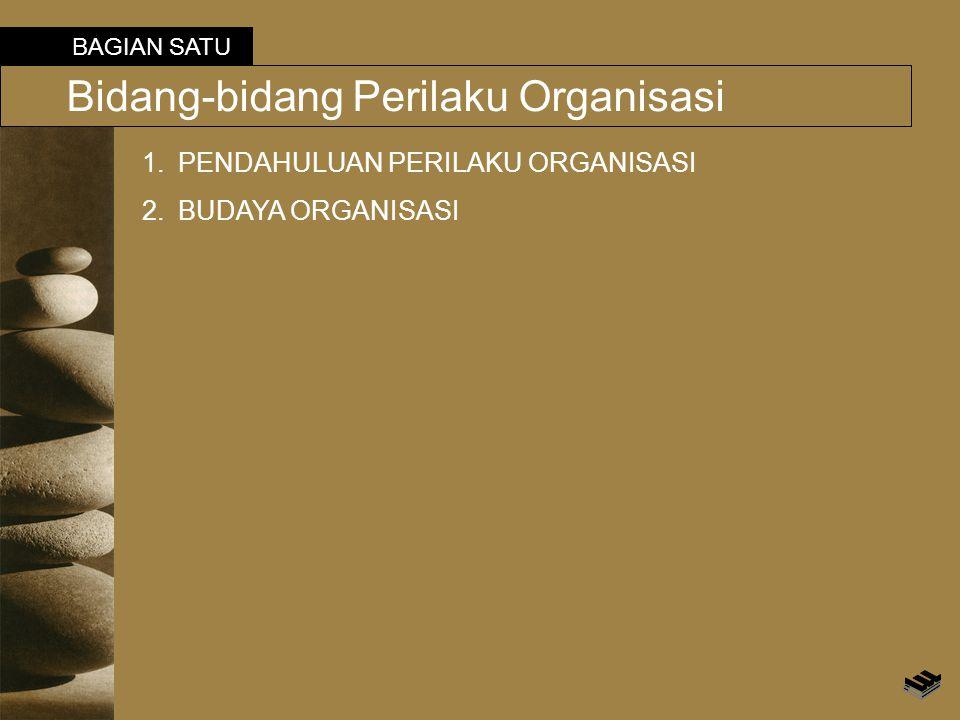 Bidang-bidang Perilaku Organisasi