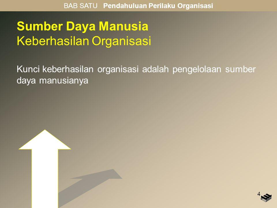 Sumber Daya Manusia Keberhasilan Organisasi