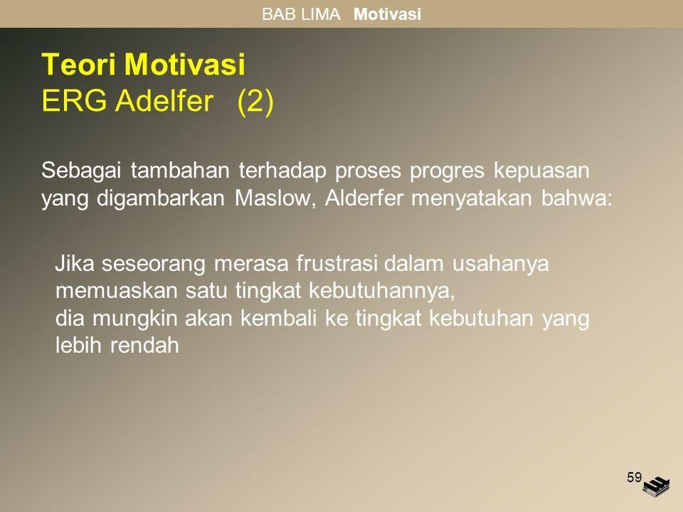 Teori Motivasi ERG Adelfer (2)