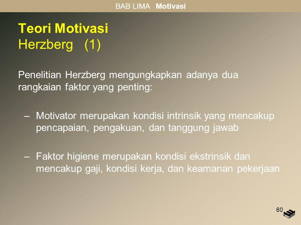 Teori Motivasi Herzberg (1)