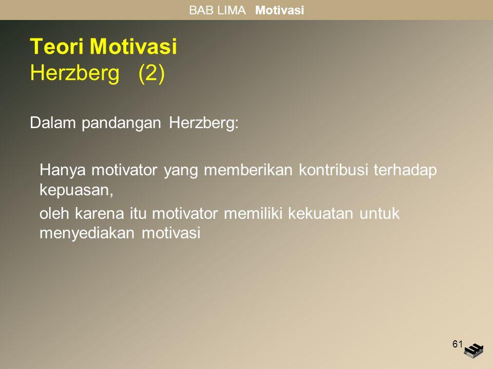 Teori Motivasi Herzberg (2)