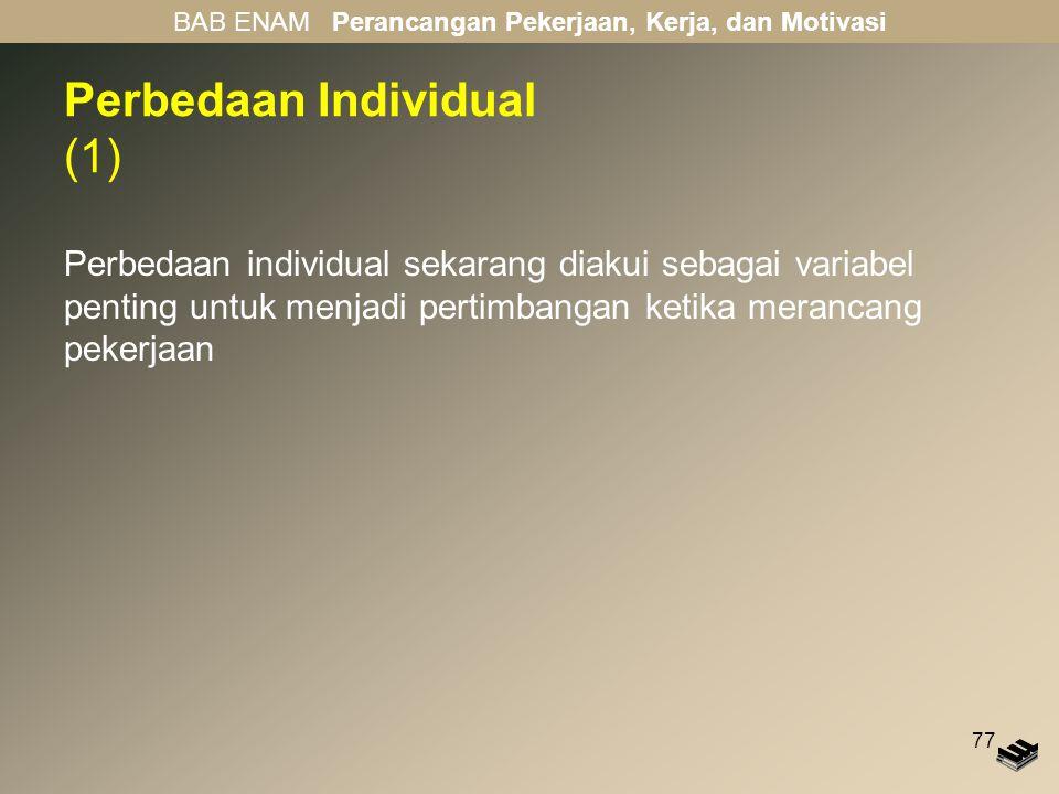 Perbedaan Individual (1)