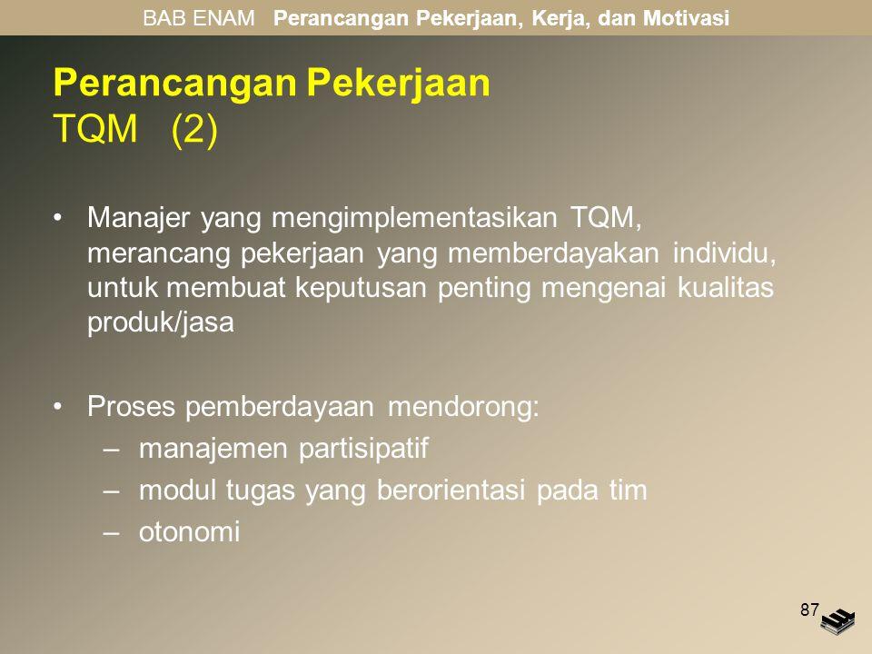 Perancangan Pekerjaan TQM (2)