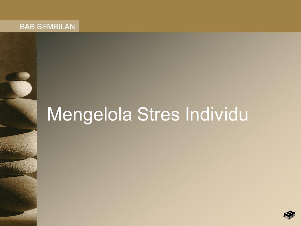 Mengelola Stres Individu