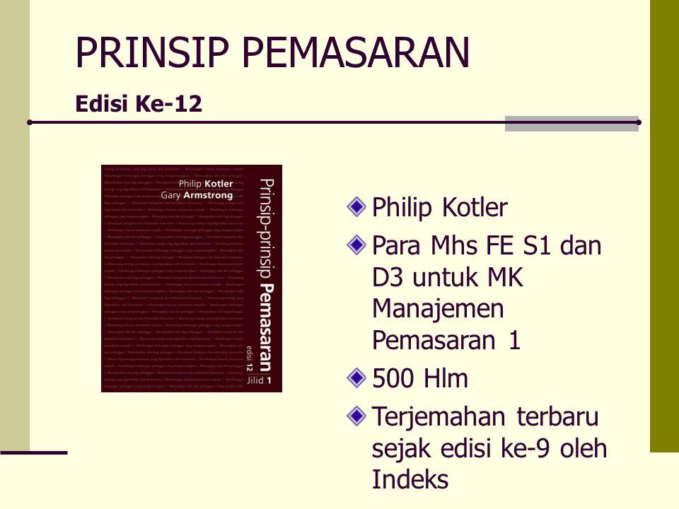 PRINSIP PEMASARAN Philip Kotler