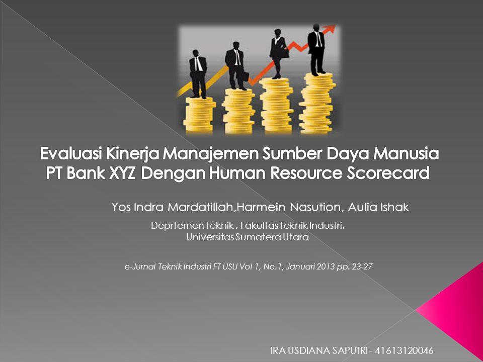 Evaluasi Kinerja Manajemen Sumber Daya Manusia