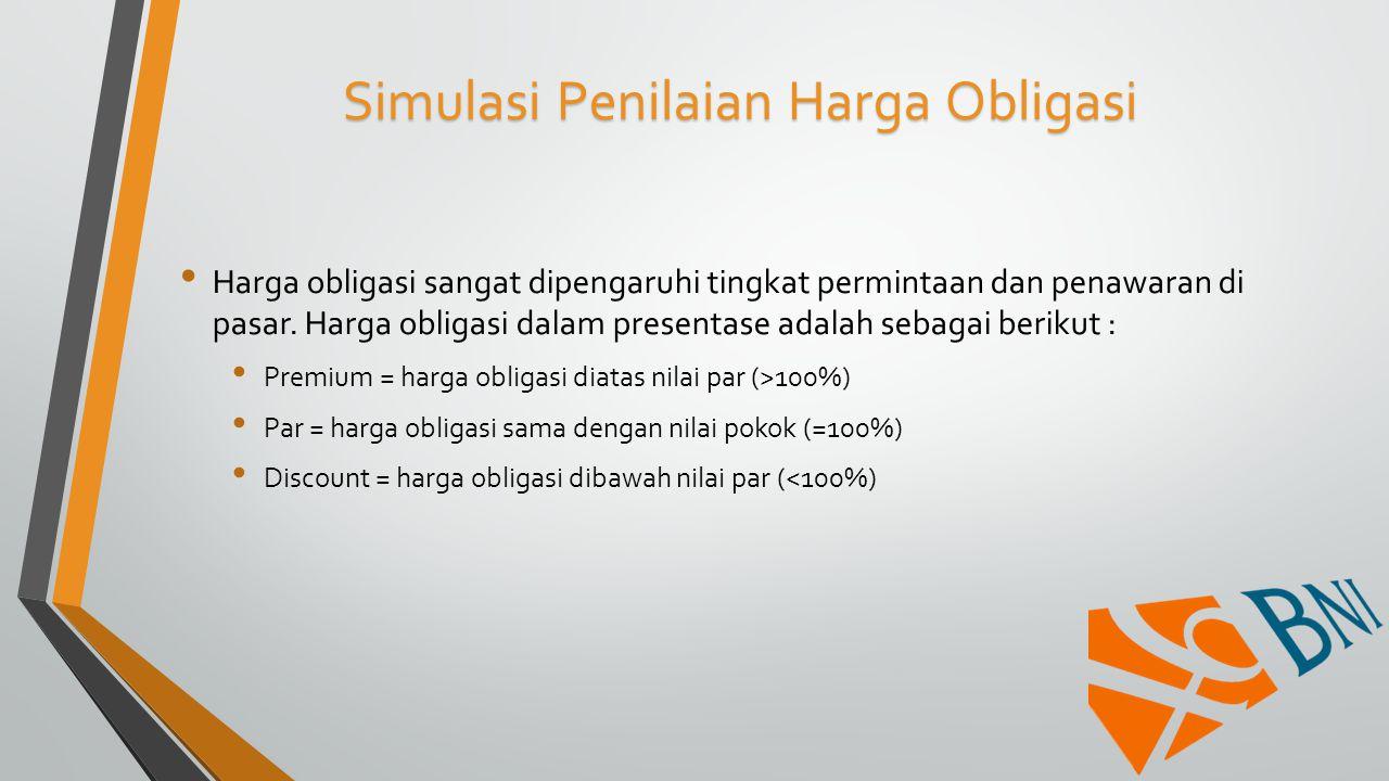 Simulasi Penilaian Harga Obligasi