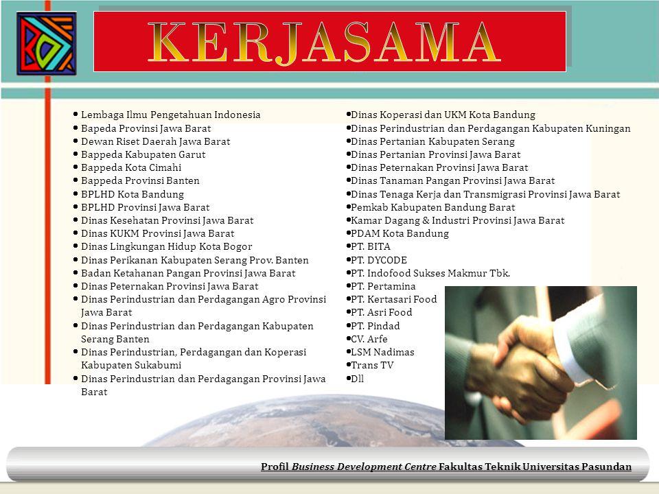KERJASAMA Lembaga Ilmu Pengetahuan Indonesia