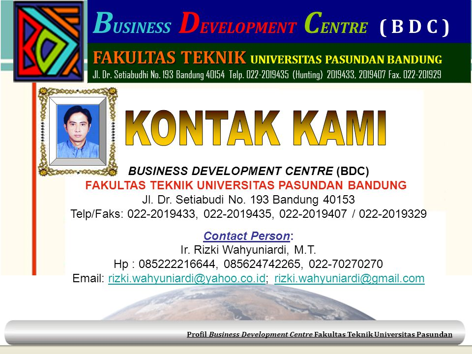 BUSINESS DEVELOPMENT CENTRE (BDC)