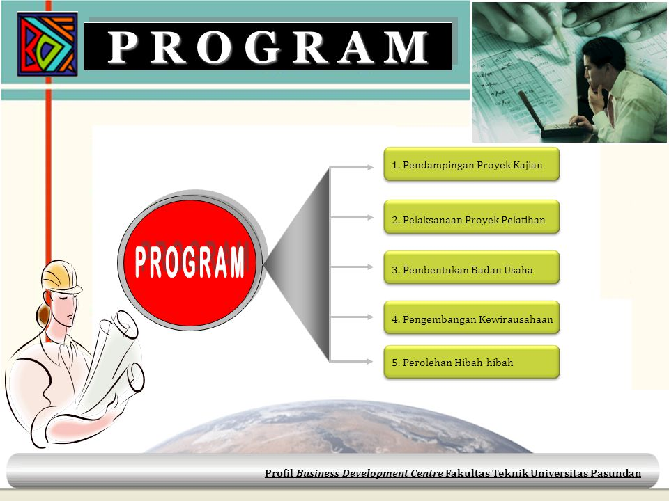 P R O G R A M PROGRAM 1. Pendampingan Proyek Kajian