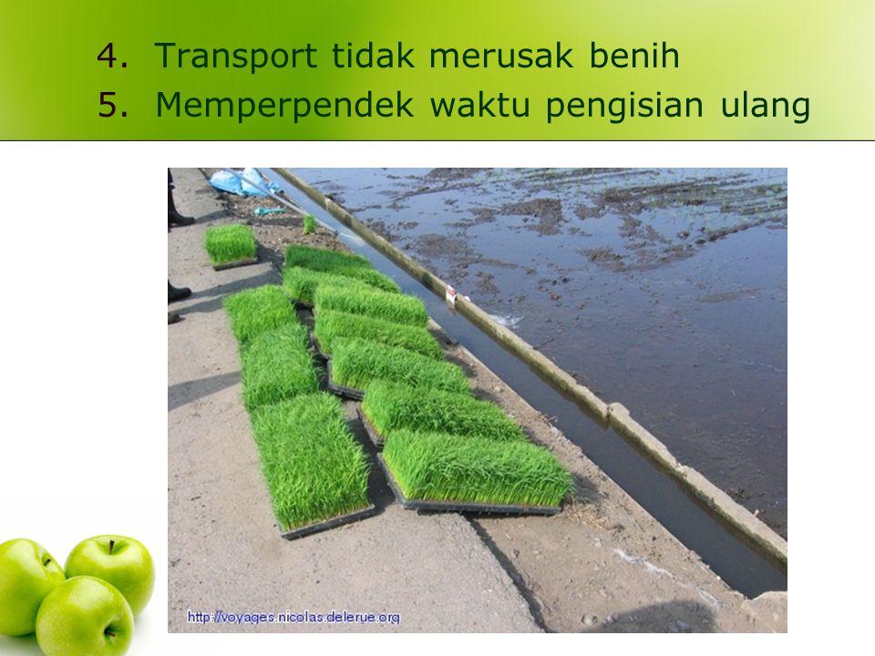 Transport tidak merusak benih