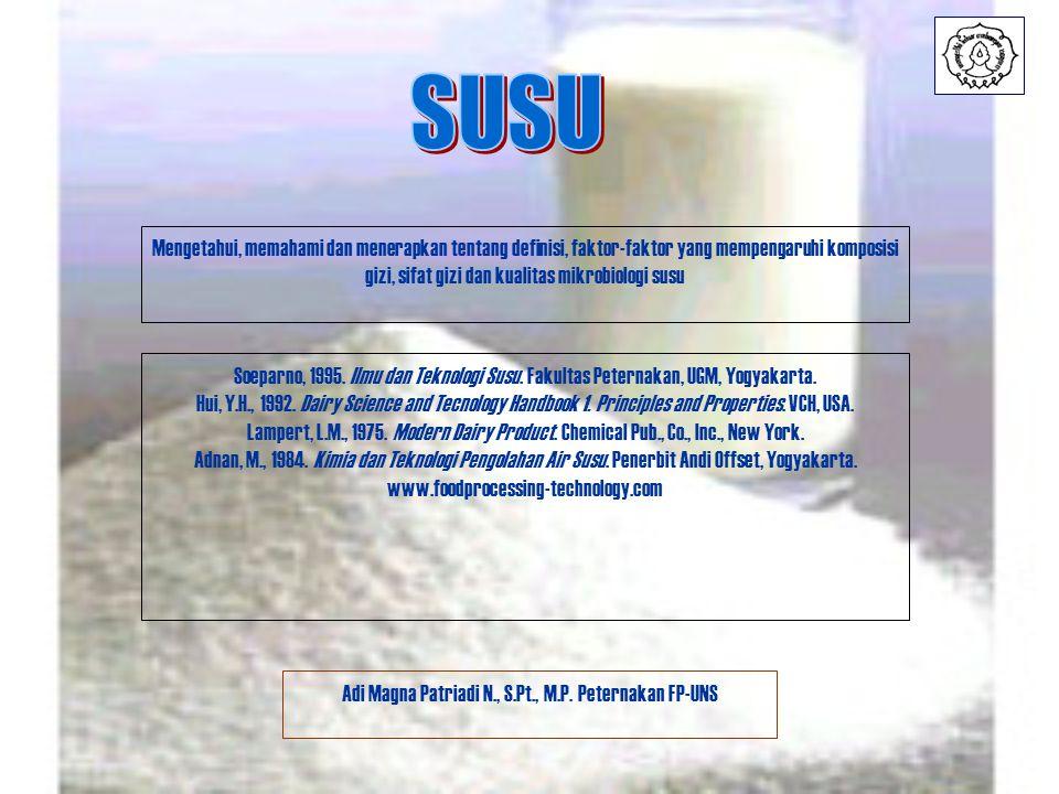 Adi Magna Patriadi N., S.Pt., M.P. Peternakan FP-UNS