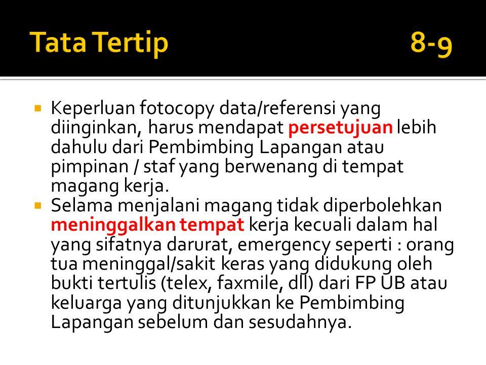 Tata Tertip 8-9