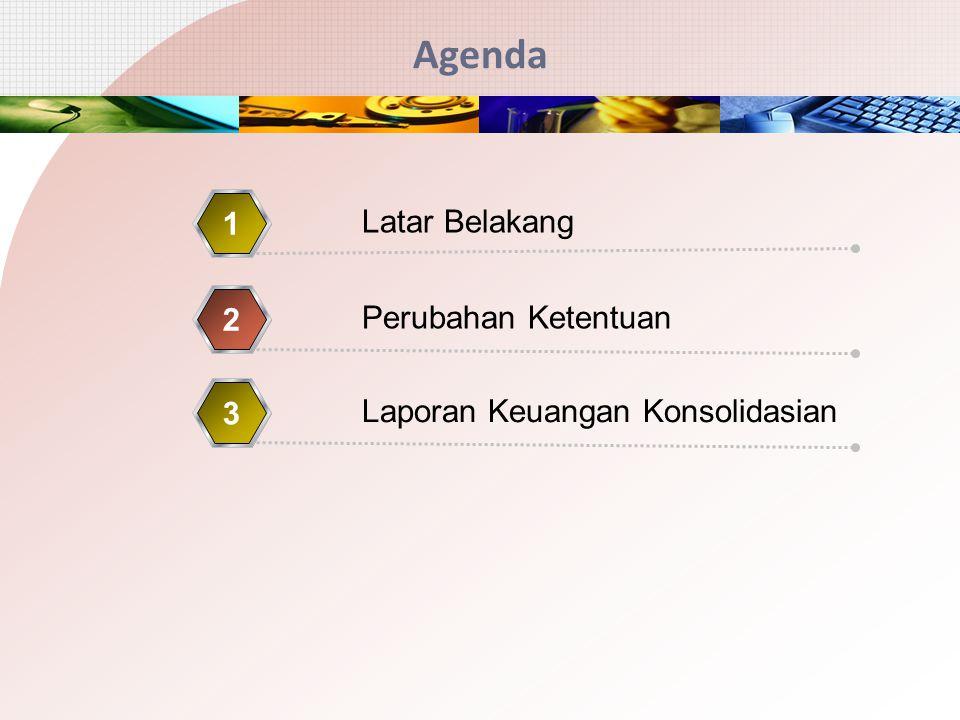 Agenda 1 Latar Belakang 2 Perubahan Ketentuan 3