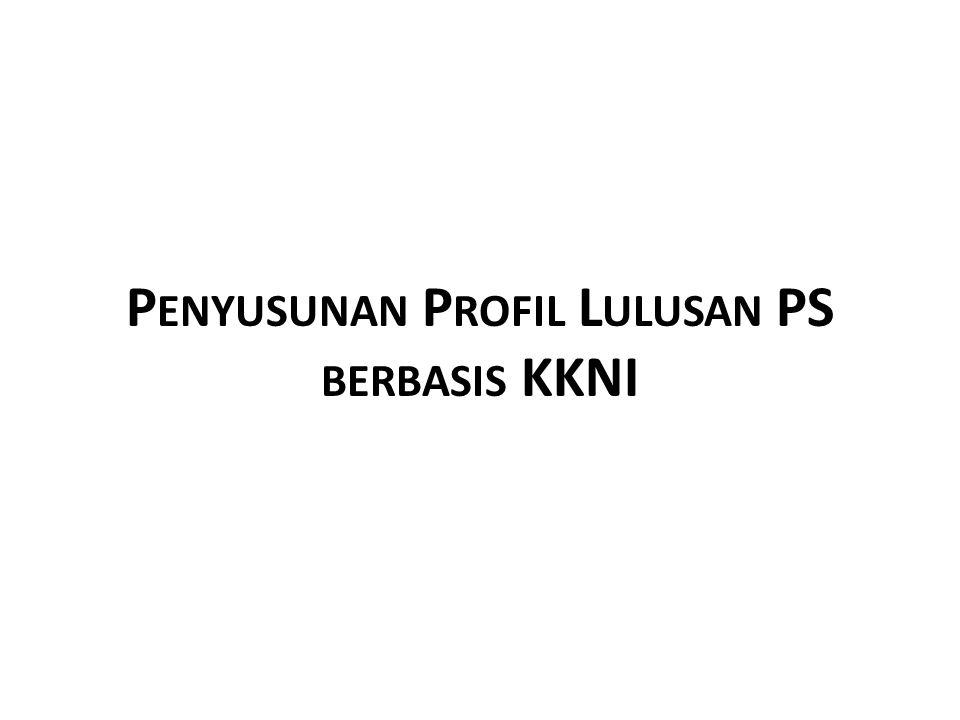Penyusunan Profil Lulusan PS berbasis KKNI