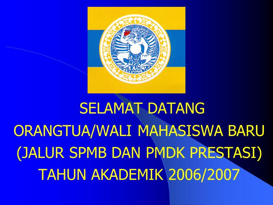 SELAMAT DATANG ORANGTUA/WALI MAHASISWA BARU