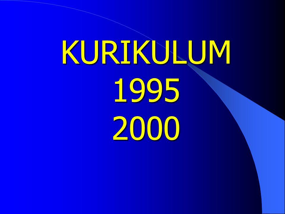 KURIKULUM 1995 2000
