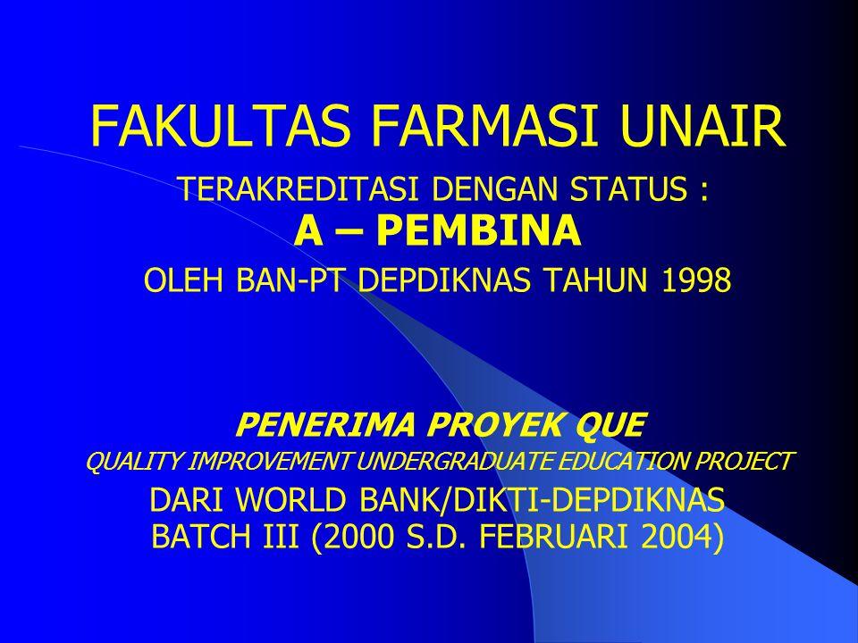 FAKULTAS FARMASI UNAIR