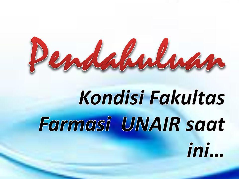 Pendahuluan Kondisi Fakultas Farmasi UNAIR saat ini…