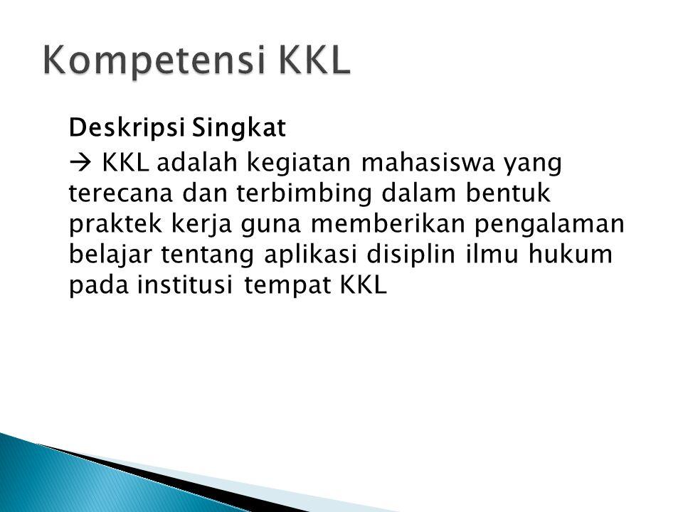 Kompetensi KKL