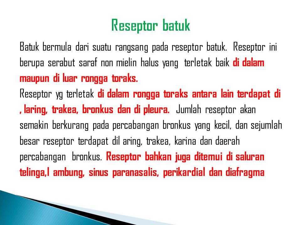 Reseptor batuk