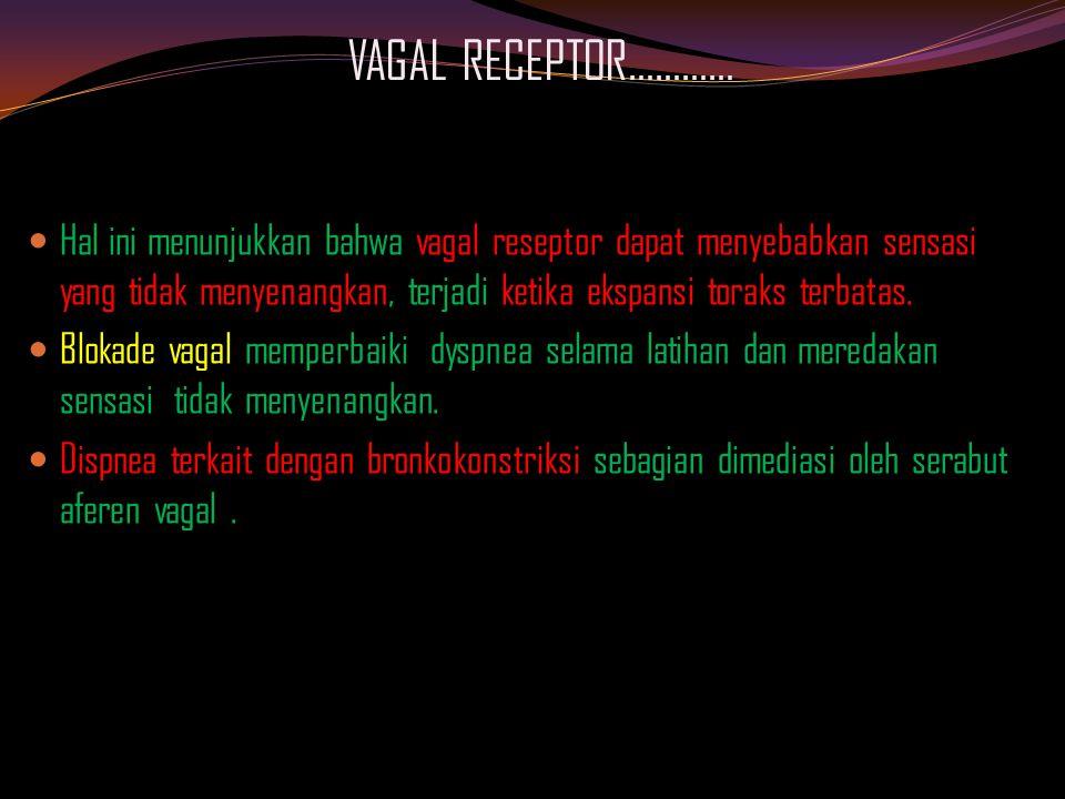 VAGAL RECEPTOR…………