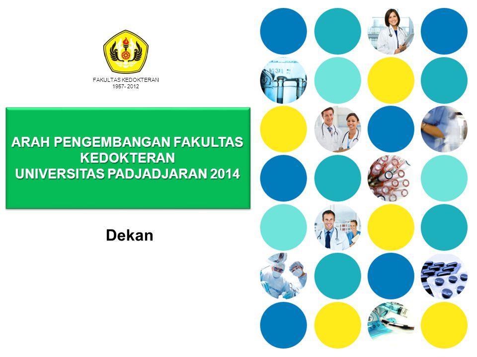 ARAH PENGEMBANGAN FAKULTAS KEDOKTERAN UNIVERSITAS PADJADJARAN 2014