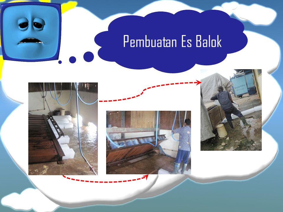 Pembuatan Es Balok