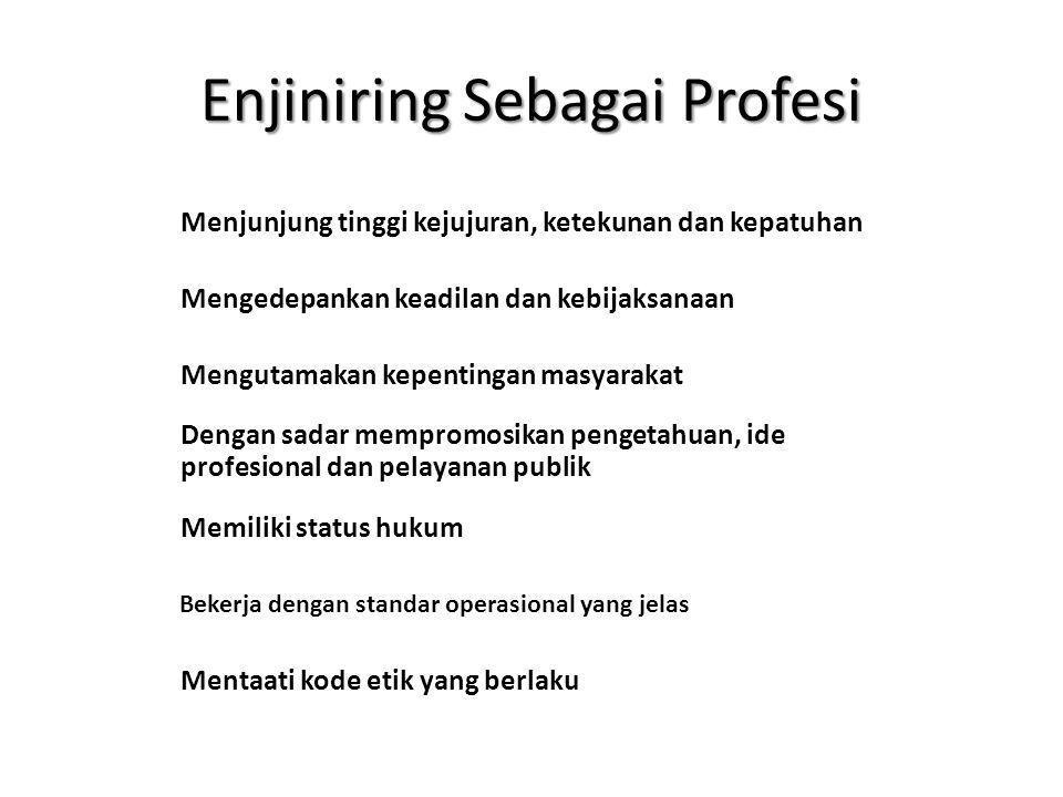 Enjiniring Sebagai Profesi