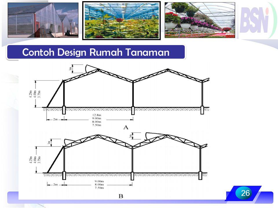 Contoh Design Rumah Tanaman
