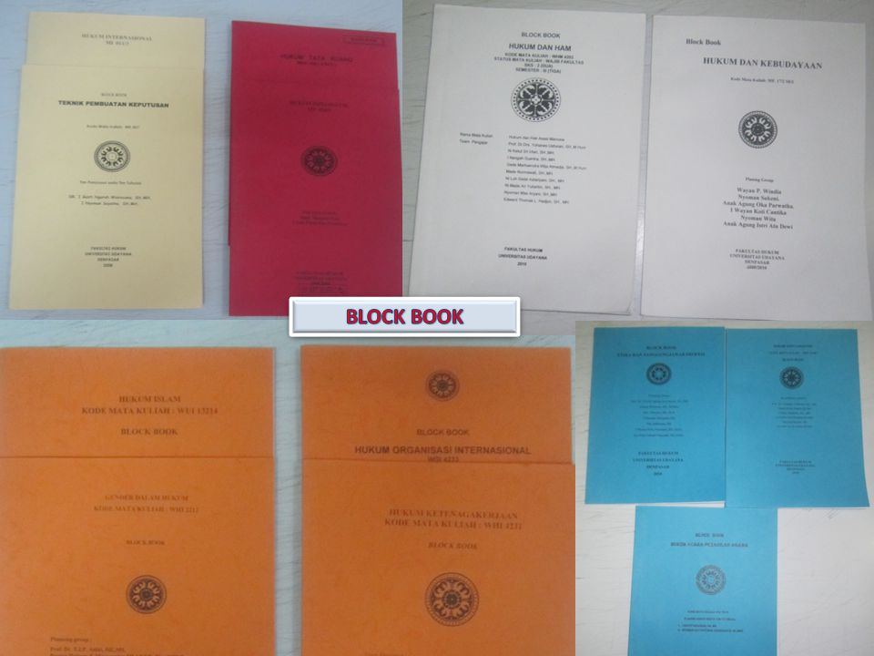 Block book BLOCK BOOK