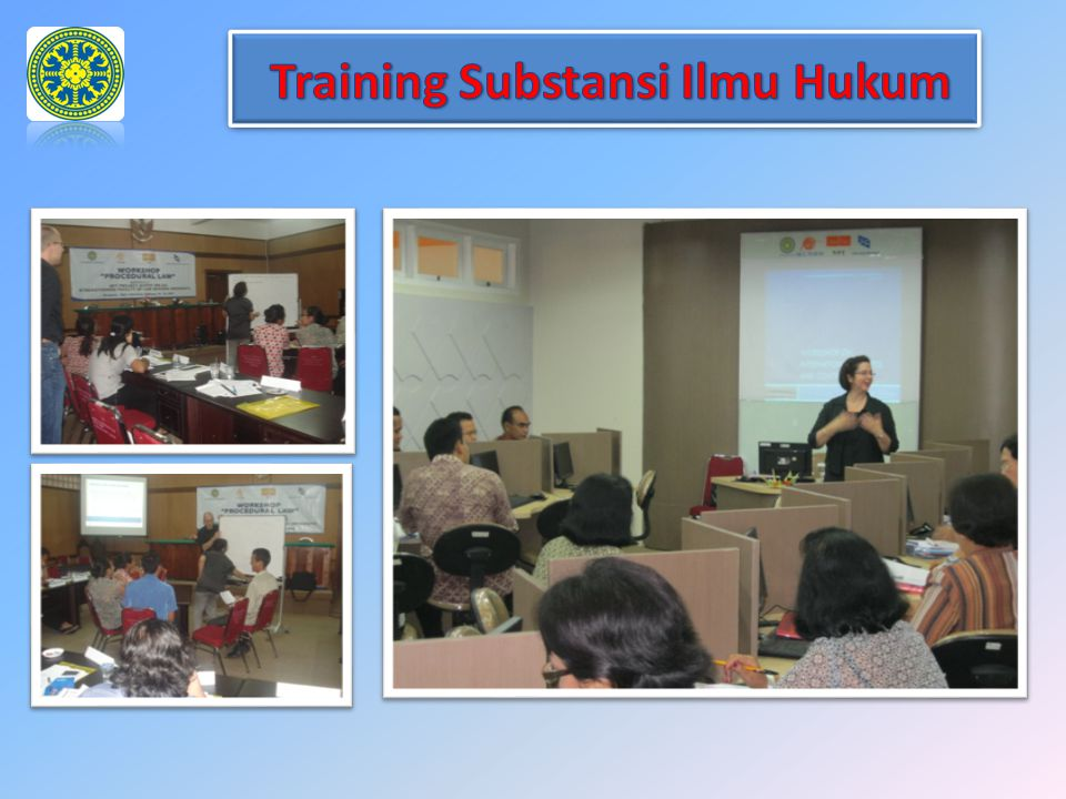Training Substansi Ilmu Hukum