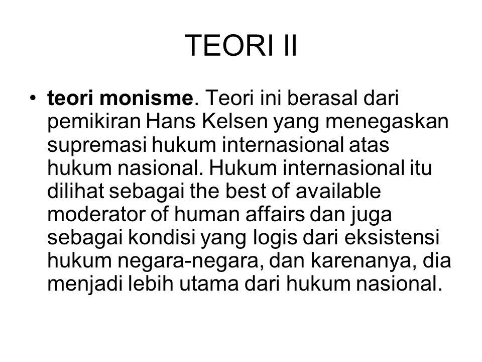 TEORI II