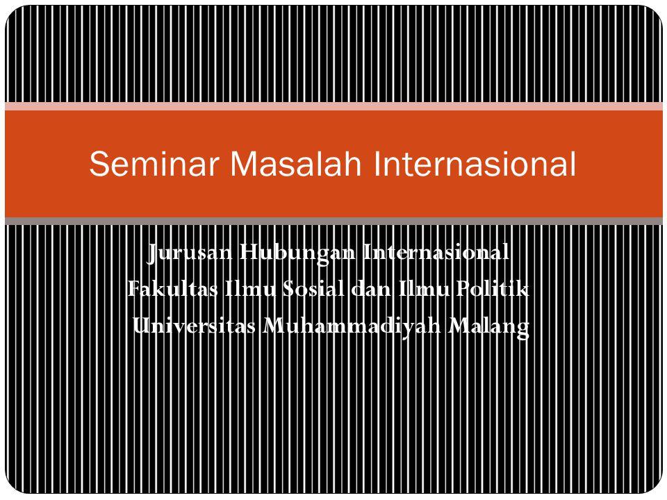 Seminar Masalah Internasional