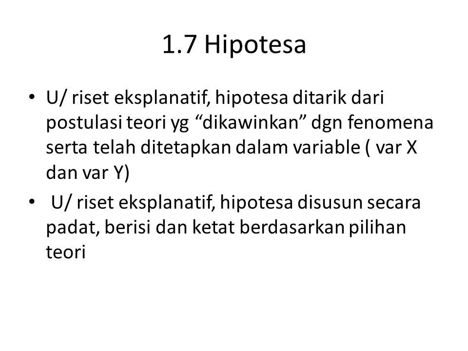1.7 Hipotesa