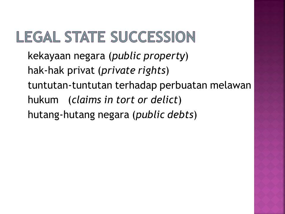 Legal State Succession