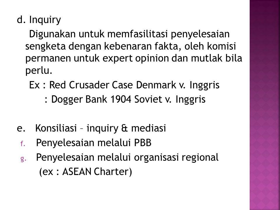 d. Inquiry