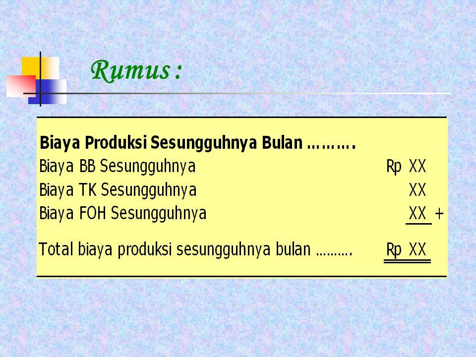 Rumus :