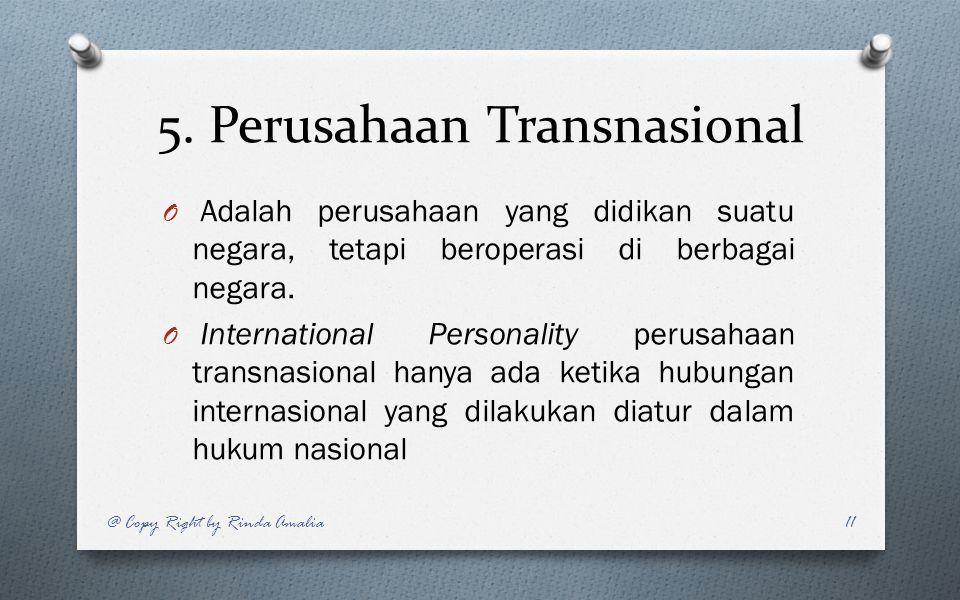 5. Perusahaan Transnasional