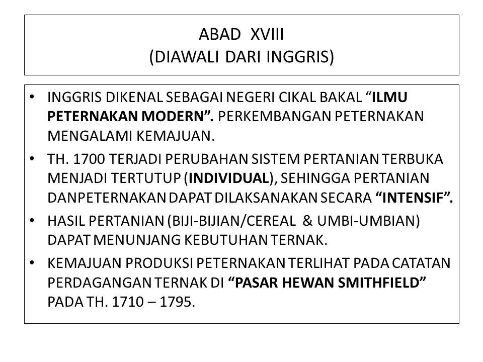 ABAD XVIII (DIAWALI DARI INGGRIS)