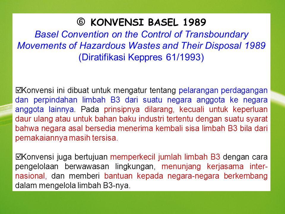 (Diratifikasi Keppres 61/1993)
