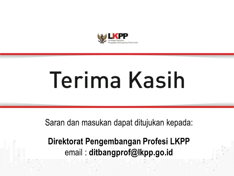 Direktorat Pengembangan Profesi LKPP