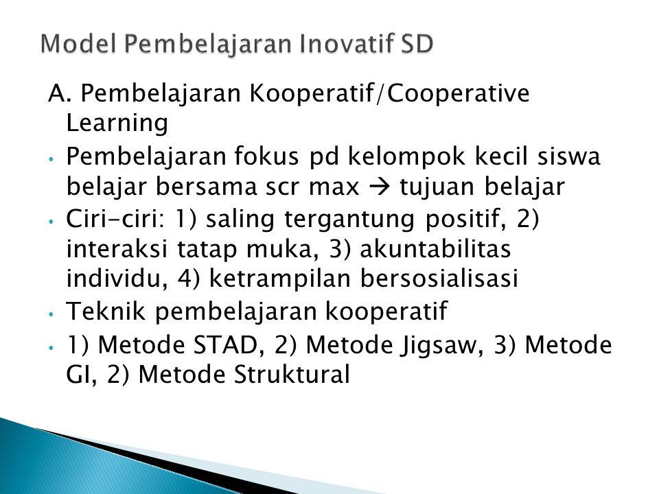 Model Pembelajaran Inovatif SD