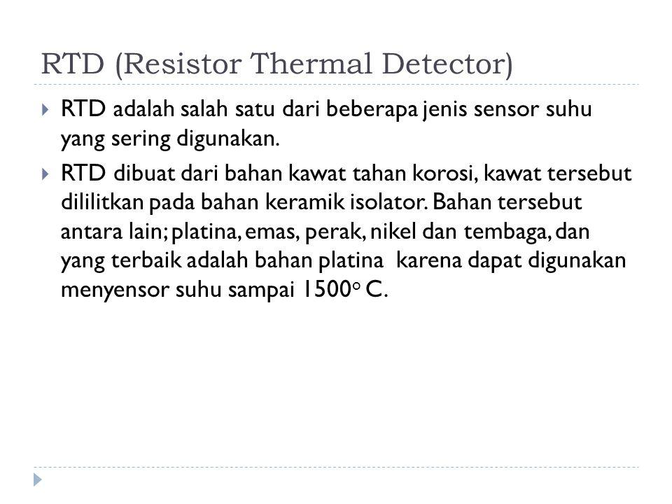 RTD (Resistor Thermal Detector)