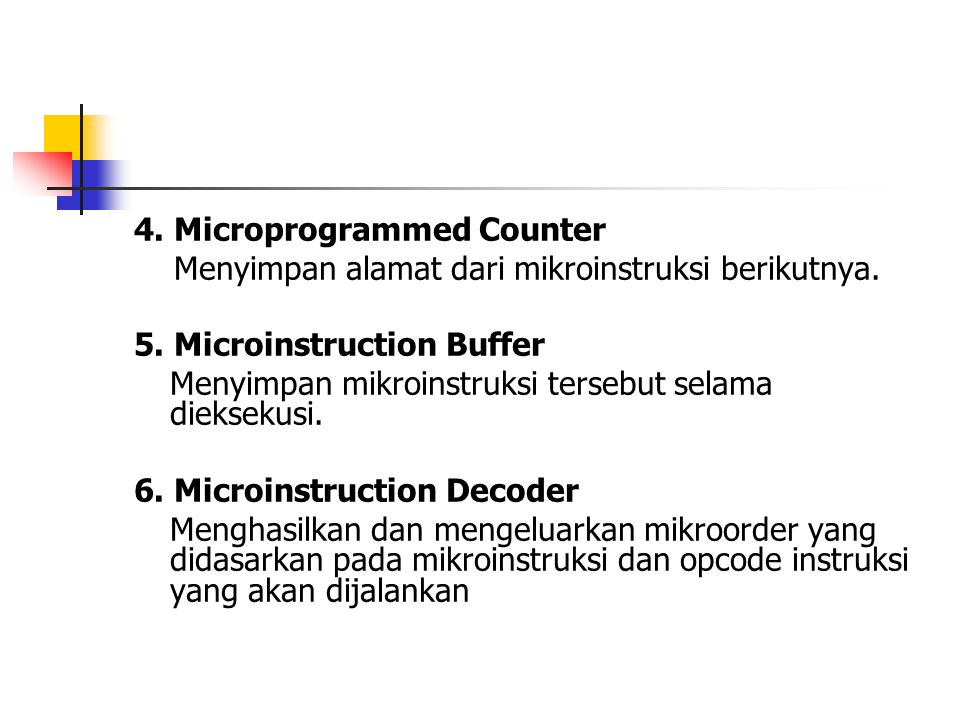 4. Microprogrammed Counter
