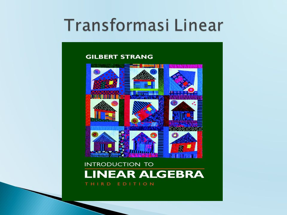 Transformasi Linear