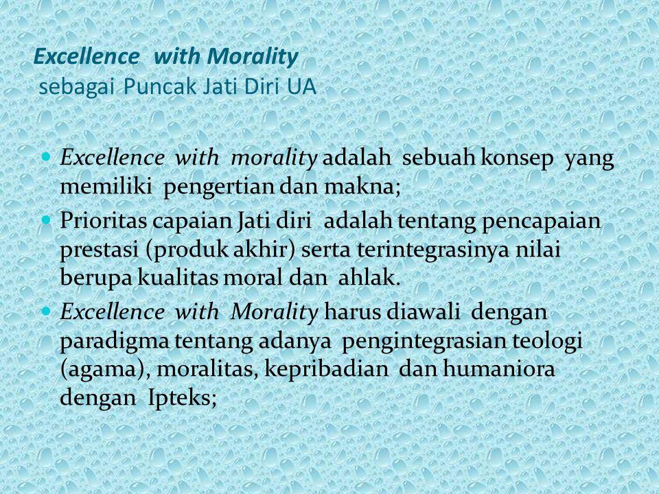 Excellence with Morality sebagai Puncak Jati Diri UA
