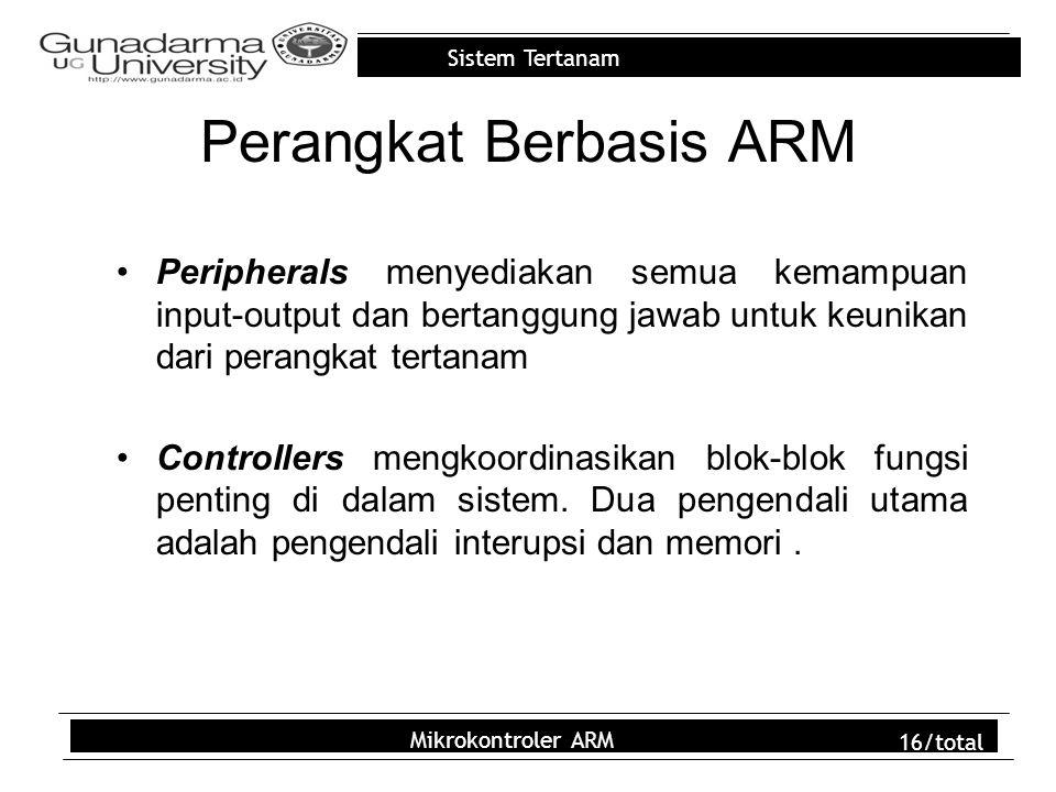 Perangkat Berbasis ARM