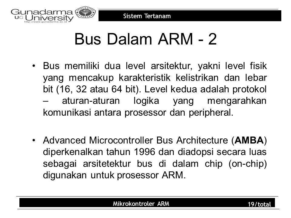 Bus Dalam ARM - 2